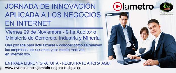 Jornada de Innovación Aplicada a los Negocios en Internet