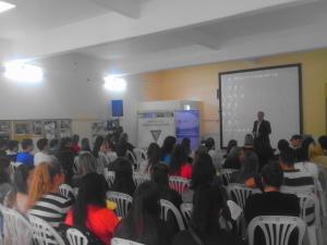 Charla sobre Tecnología y Negocios en Jornada de Opticos en Villa María, Córdoba
