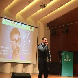 """Disertación sobre Negocios en Internet en Ciclo """"Muniemprendepyme"""", auditorio Radio Nacional"""