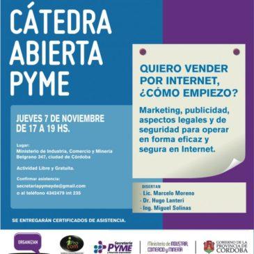 Catedra Abierta Pyme – Quiero vender por Internet. Cómo empiezo?