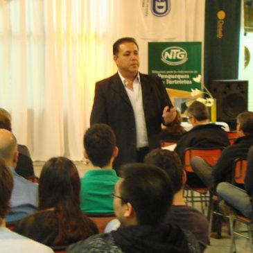 Presentación sobre Comercio Electrónico del IProCom en Rufino, Santa Fe