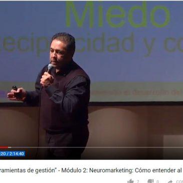 Charla sobre «Neuromarketing: Cómo entender al consumidor» – Ciclo Muniemprendepyme