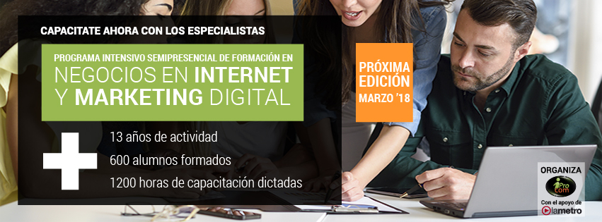 Programa Intensivo Negocios en Internet y Marketing Digital